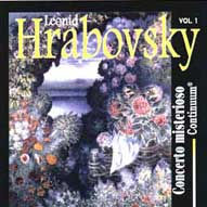 1448 Concerto Misterioso: The Music of Leonid Hrabovsky (b. 1935), Vol. 1