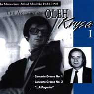 1412 The Artistry of Oleh Krysa, Vol. 1: In Memoriam: Alfred Schnittke (1934-1998)