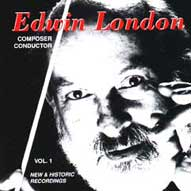 1442 Edwin London: Composer/Conductor Vol. 1