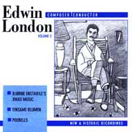 1477 Edwin London: Composer/Conductor Vol. 2 The Music of Edwin London