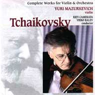 1453 Tchaikovsky: Complete Works for Violin and Orchestra