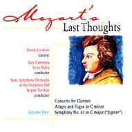 1456 Mozart's Last Thoughts, Vol. 1