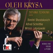 1544 Oleh Krysa: Shostakovich/Schnittke/Lutoslawski - Vol. 19 - Digital Download