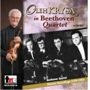 1551-54H Oleh Krysa In Beethoven Quartet - Historic Recordings 1978-1983 - Digital Download