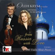 1532 Oleh Krysa: 100 Violin Show Pieces Vol. 2 - From Russia with Love